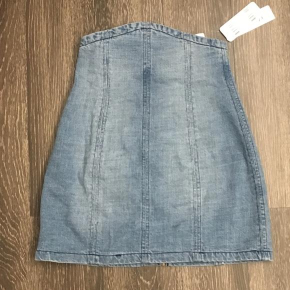 f494f9282d6 Forever 21 Skirts | Forver 21 High Waisted Denim Mini Skirt Nwt ...
